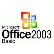 MICROSOFT Office 2003 Basic w/SP1, Full, OEM, English, CD, 1 user (MSOF2003BSC)